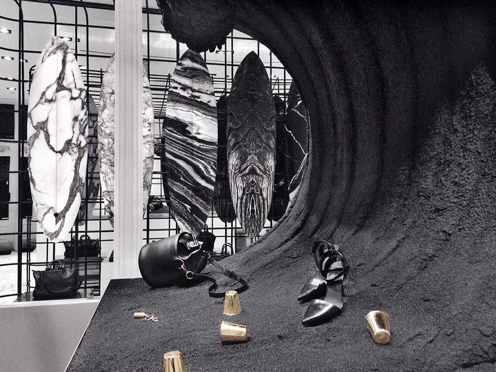 Summer Surf Installation At Alexander Wang Miami Design