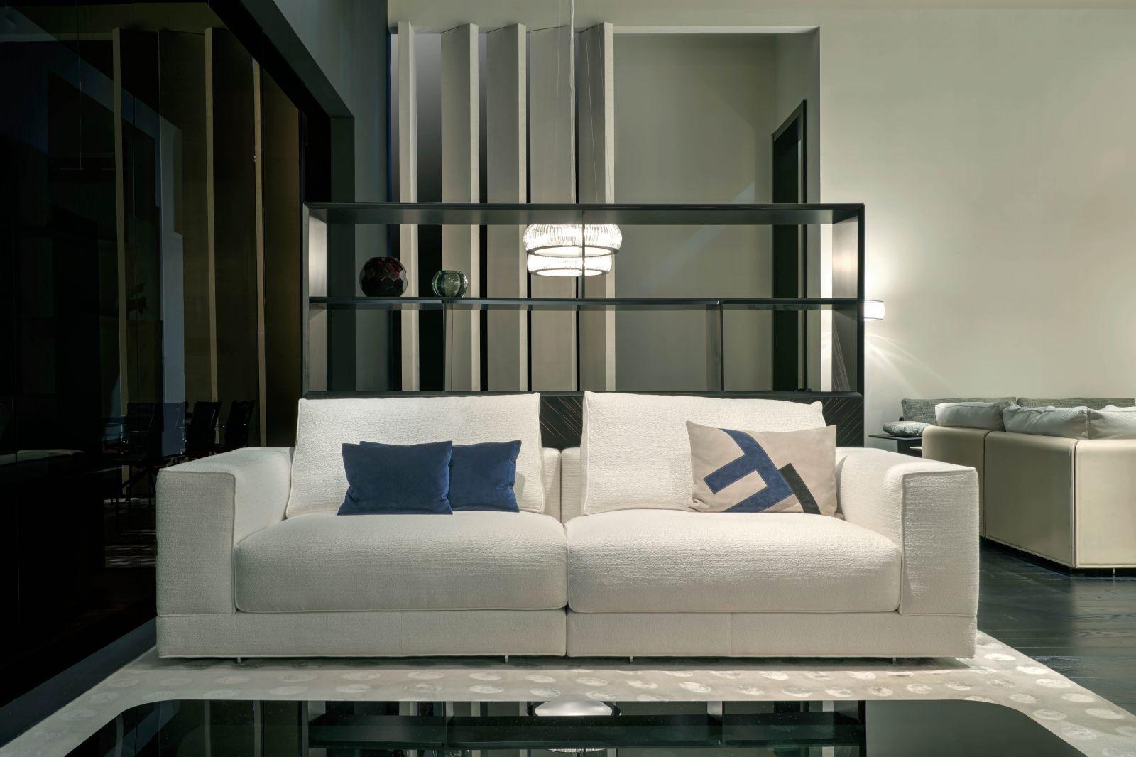 [Sloane Sofa: Photo Courtesy Of Fendi Casa]