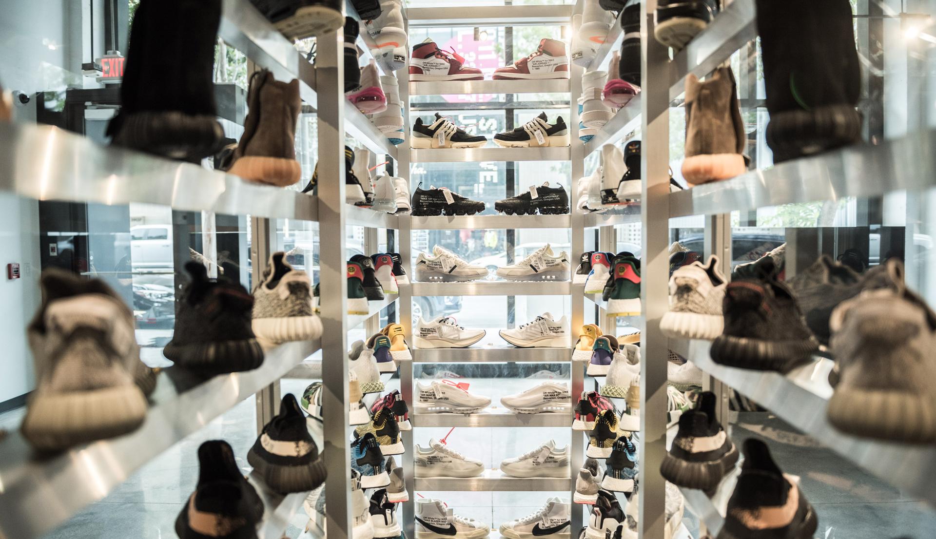online retailer 6b1f9 67ef1 Sneakerheads Rejoice: Flight Club Pop-Up is Now Open in Miami
