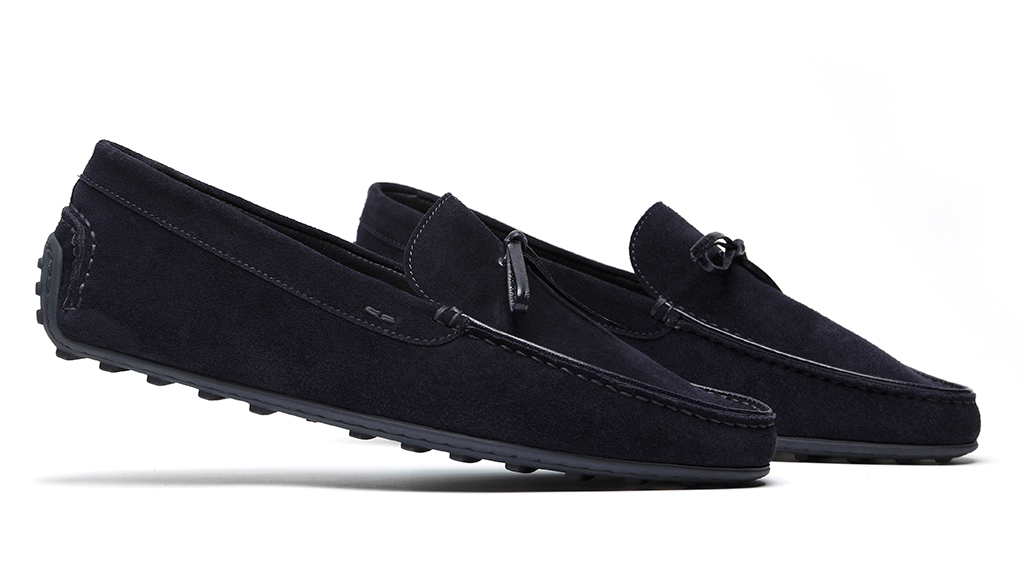 Lynther Dusk Suede Side view