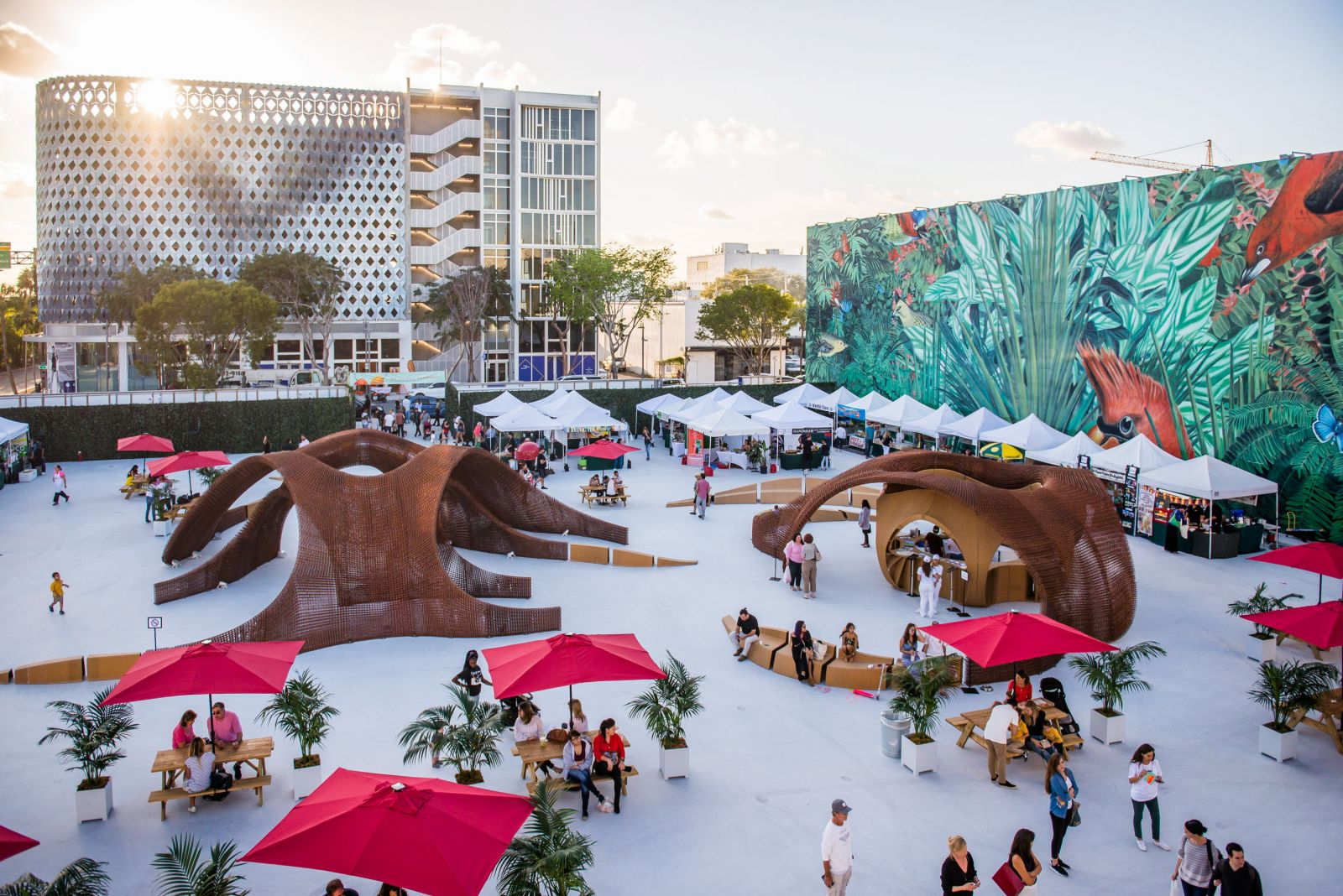 a guide to the miami design district's most instagram