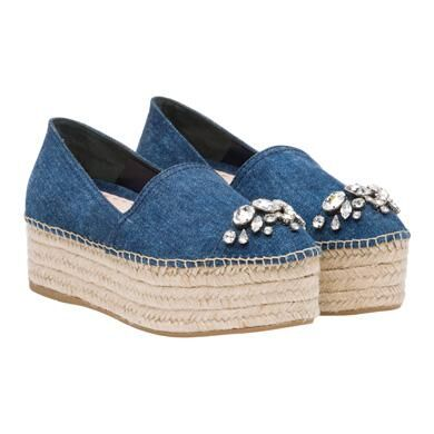 MiuMiu Denim Shoes