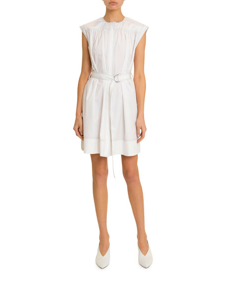 Givenchy belted cotton dress