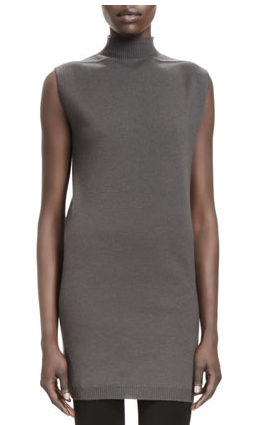 Sleeveless Knit High-Neck Sweater from Rick Owens
