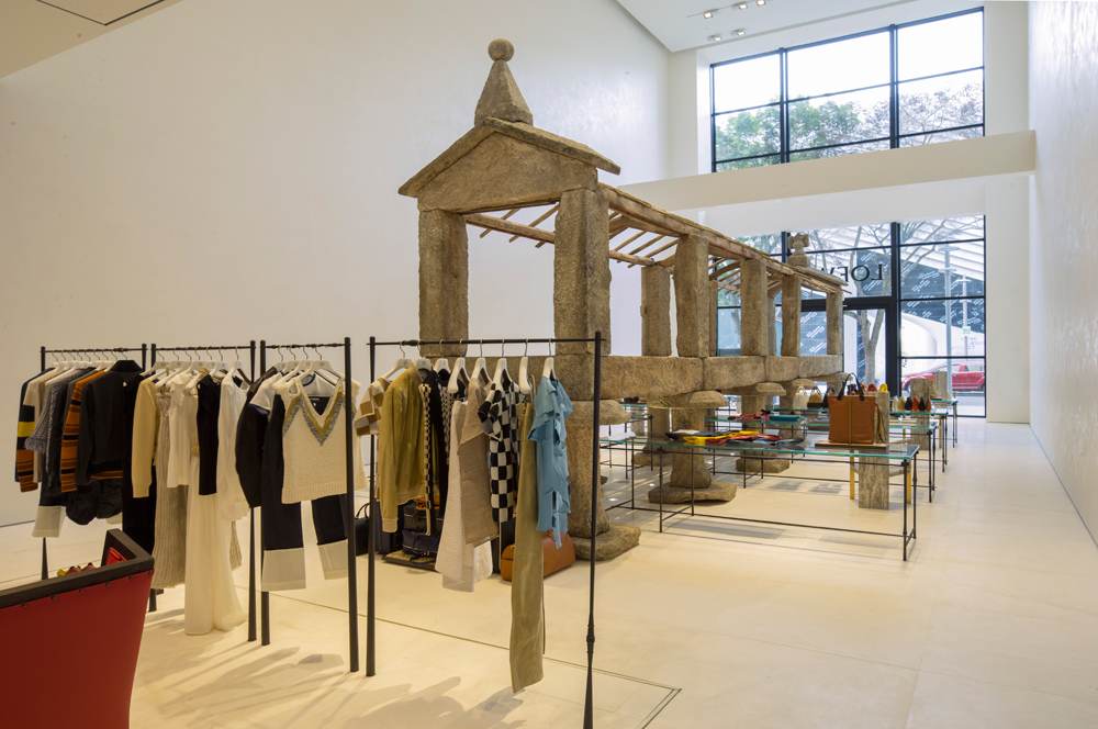 Loewe Opens Its First US Store In The Miami Design District Awesome Furniture Stores Miami Design District