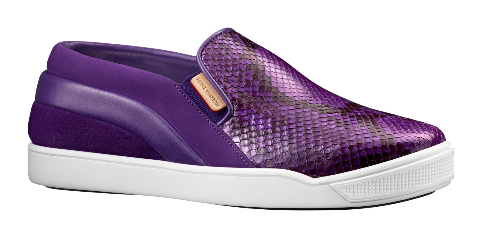 Louis Vuitton Purple Python