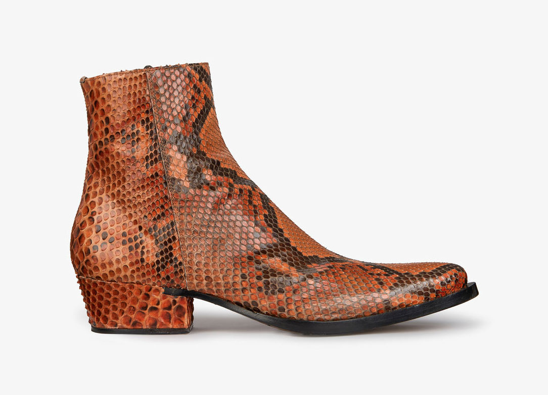 Pointed Boots in Python from Givenchy