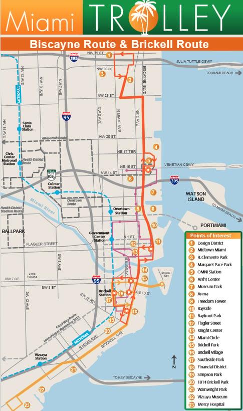 Miami Trolley Now Servicing the Miami Design District Miami Design