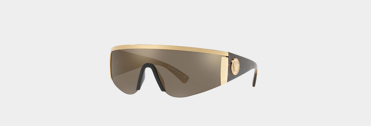 Havana Tribute Visor Versace Cycling Sunglasses