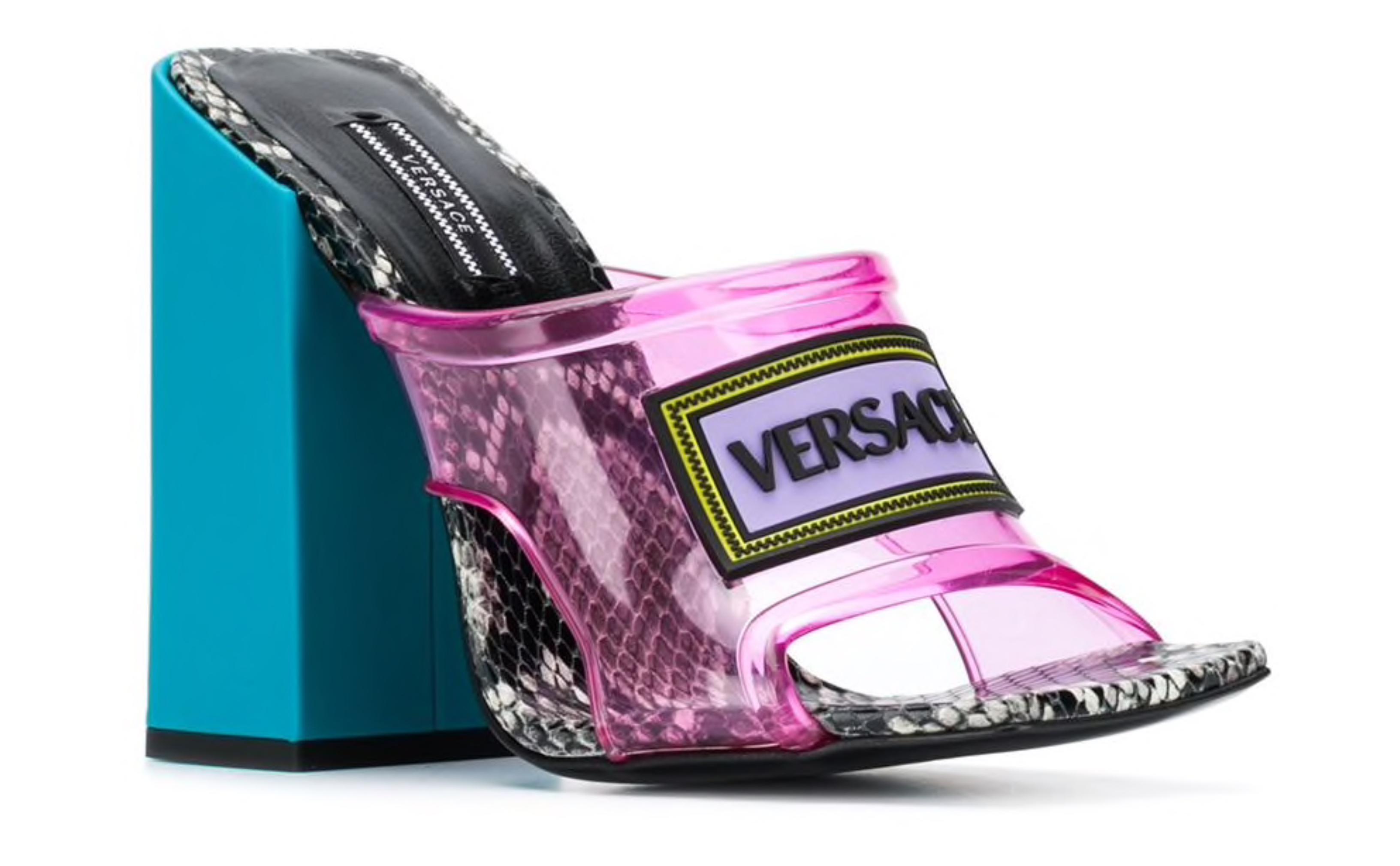 versace jelly heels off 65% - www