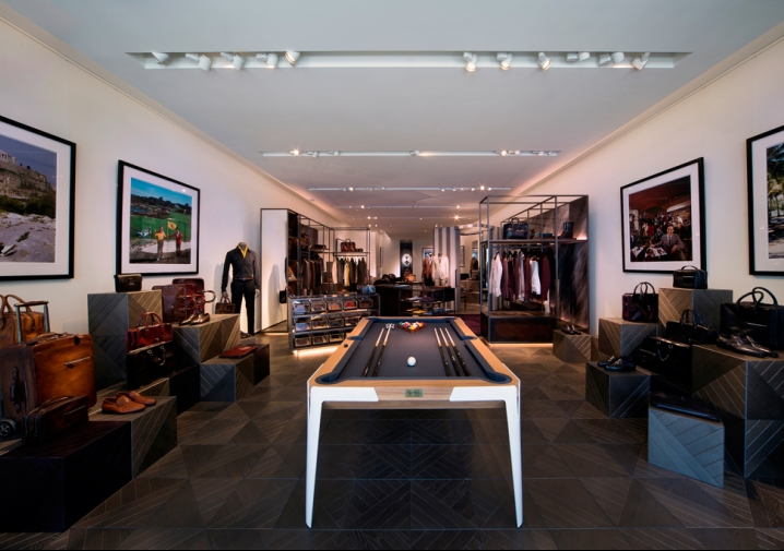 Berluti Lands in the Design District: A happening place for him