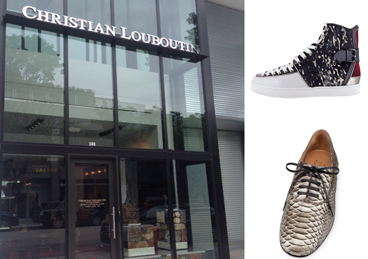 christian louboutin store address