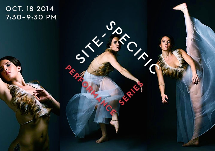 Site-Specific Performance Series This Saturday
