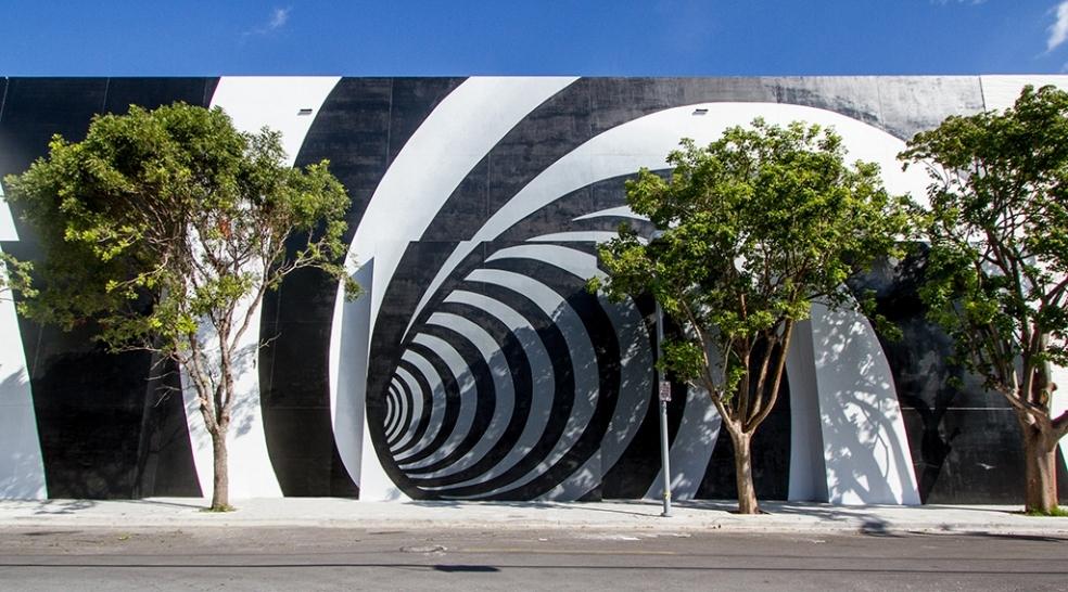 the vortex pulls you in miami design district