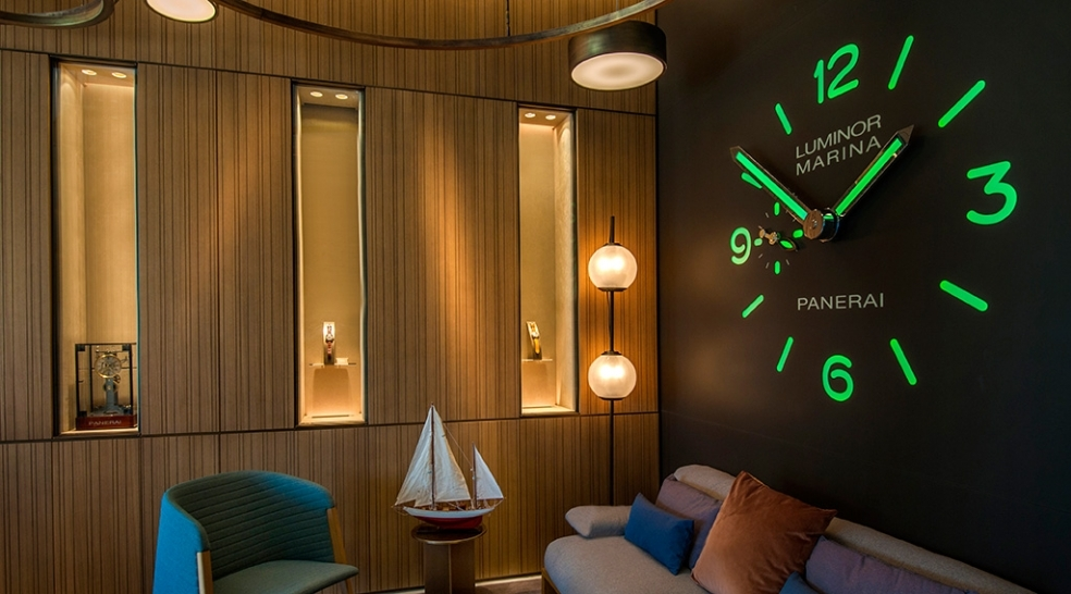 Ciao Panerai! The District Welcomes Panerai's Largest U.S. Boutique