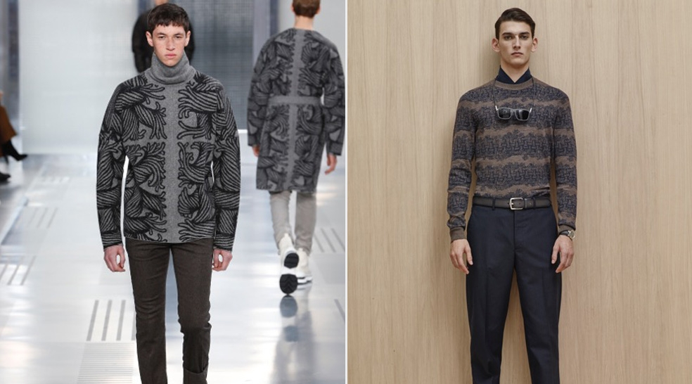 When Fashion and Art Combine:  A Look at Louis Vuitton's Men's Fall Collection