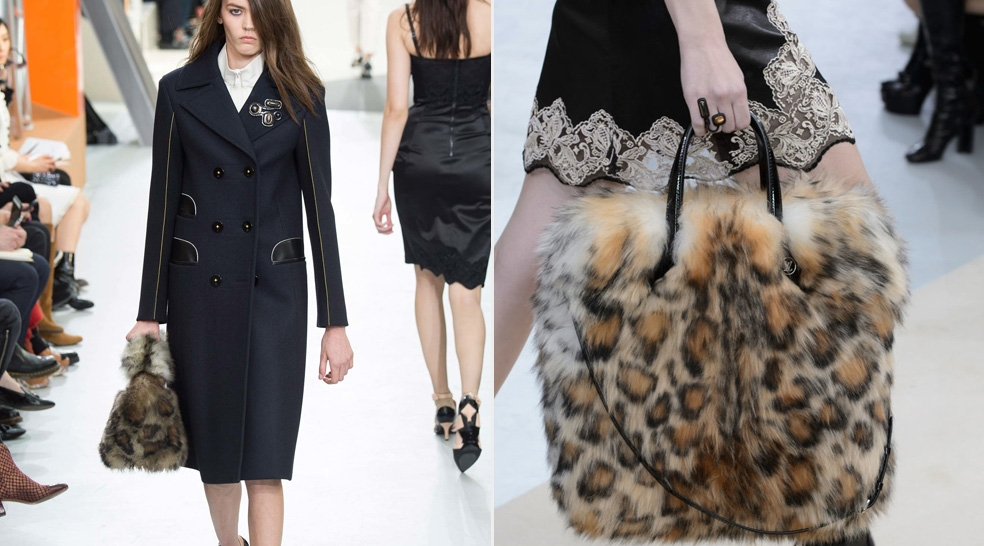 Skins, Studs and Fur – Fall's Hottest Handbag Trend
