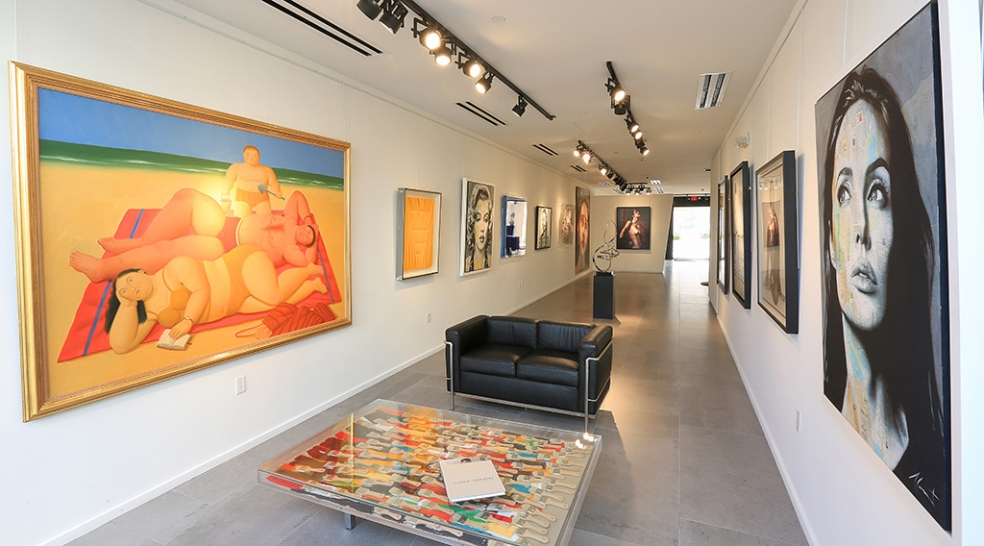 Opera Gallery Celebrates New Home in Palm Court