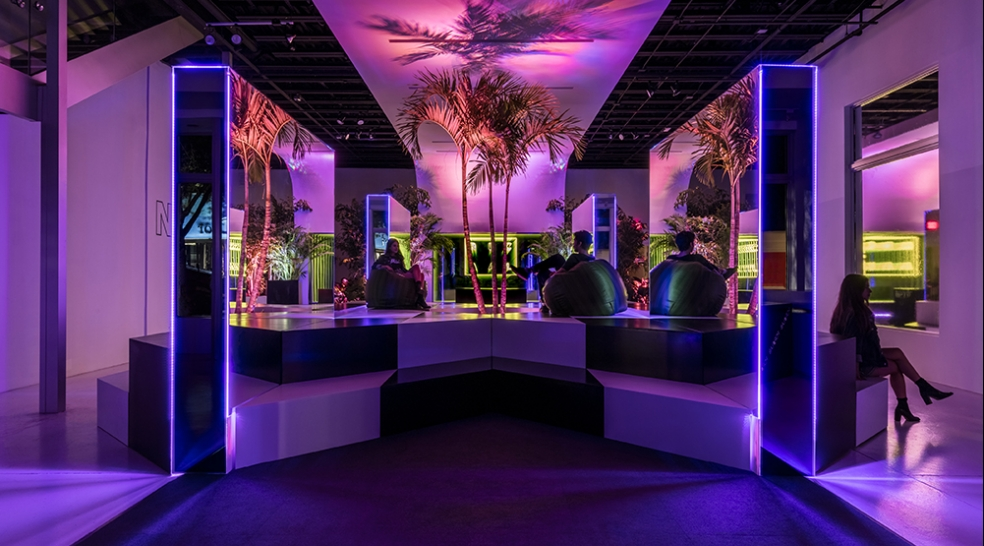 Music + Design + Popsicles: Welcome to the (Neon) Jungle.
