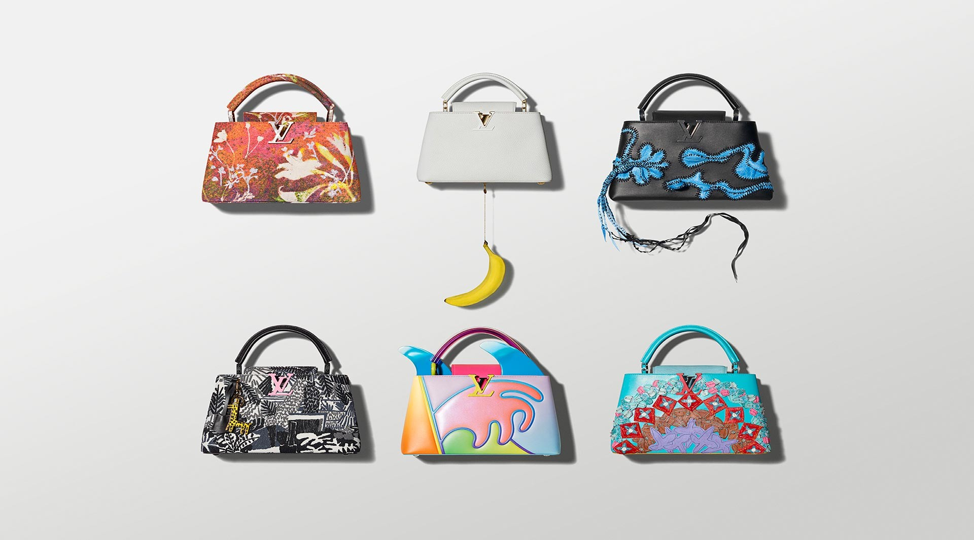 Louis Vuitton ArtyCapucines Collection