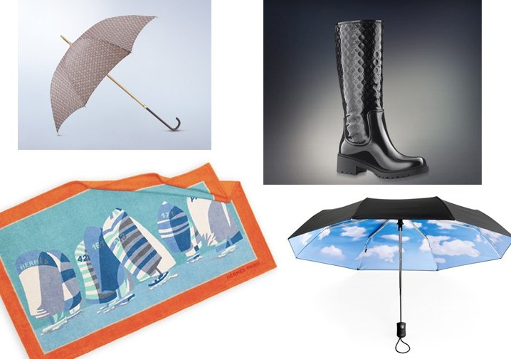 Here Comes the Rain: Get soaked in designer gear