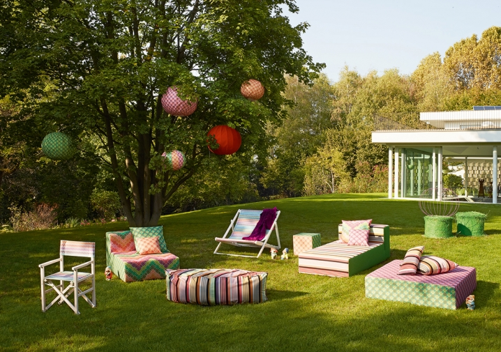 The Great Outdoors: Add a little MissoniHome to Mother Nature's big backyard.