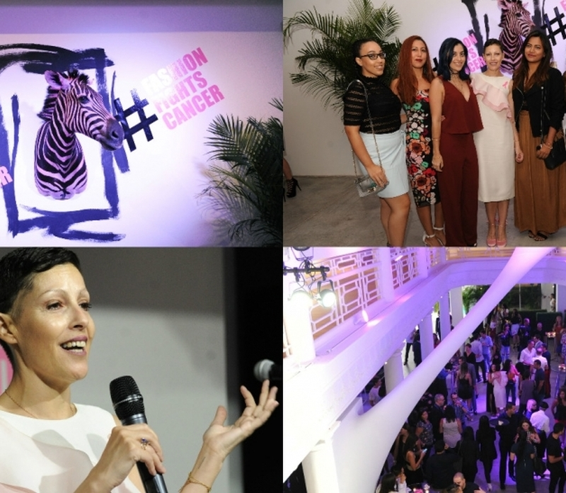 Miami's Style Elite Gather For Fashion Fights Cancer