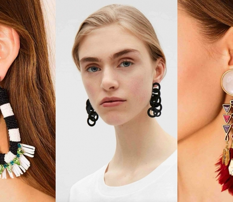 These Earrings Make a Statement
