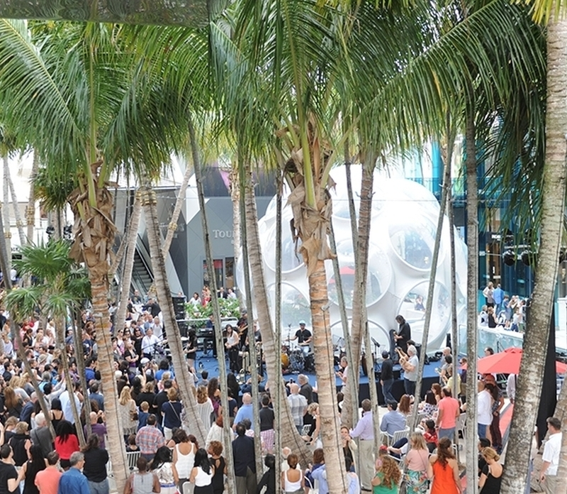 Get On Your Feet: The Miami Design District Performance Series Returns to Palm Court