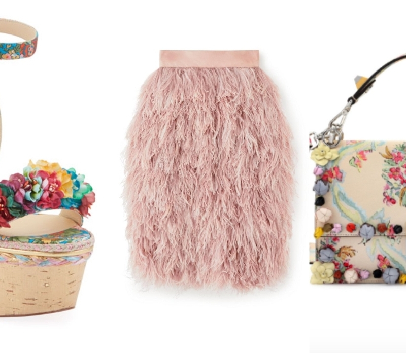 Isn't It Romantic: Ruffles, Florals and Feathers for Spring