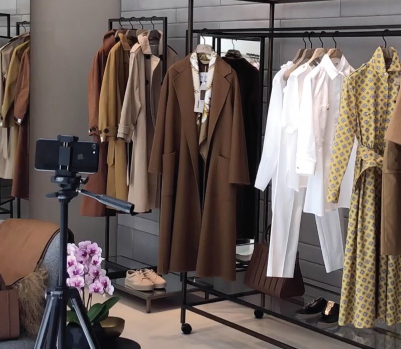 Max Mara Virtual Styling Appointments