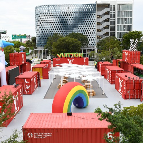 Louis Vuitton Men's Temporary Residency at Miami Design District