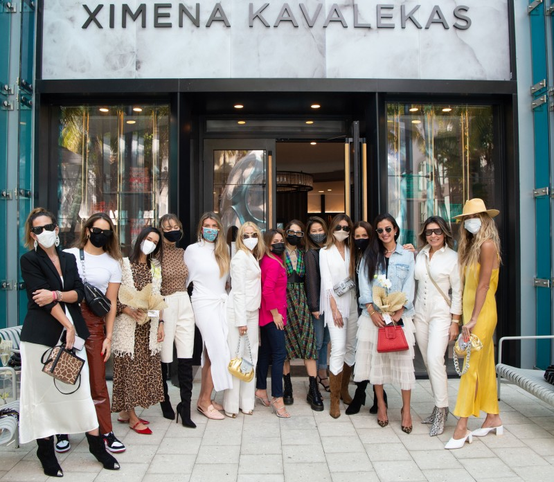 Ximena Kavalekas Store Opening in the Miami Design District