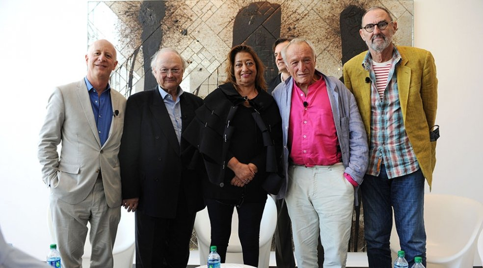 Pritzker Architecture Prize Laureate Panel Discussion at de la Cruz Collection