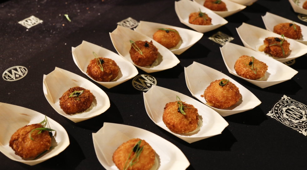 Food Network & Cooking Channel South Beach Wine & Food Festival Croquetas and Champagne in Palm Court