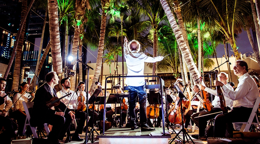 MISO Pop Up Concert in the Miami Design District