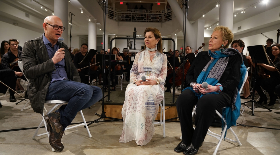An Homage to Zaha Hadid – MISO Poetry of Music & Design Pre-Concert Talk with Iran Khaan Wahad & HRH Princess Firyal of Jordan & Mediated by Craig Robins