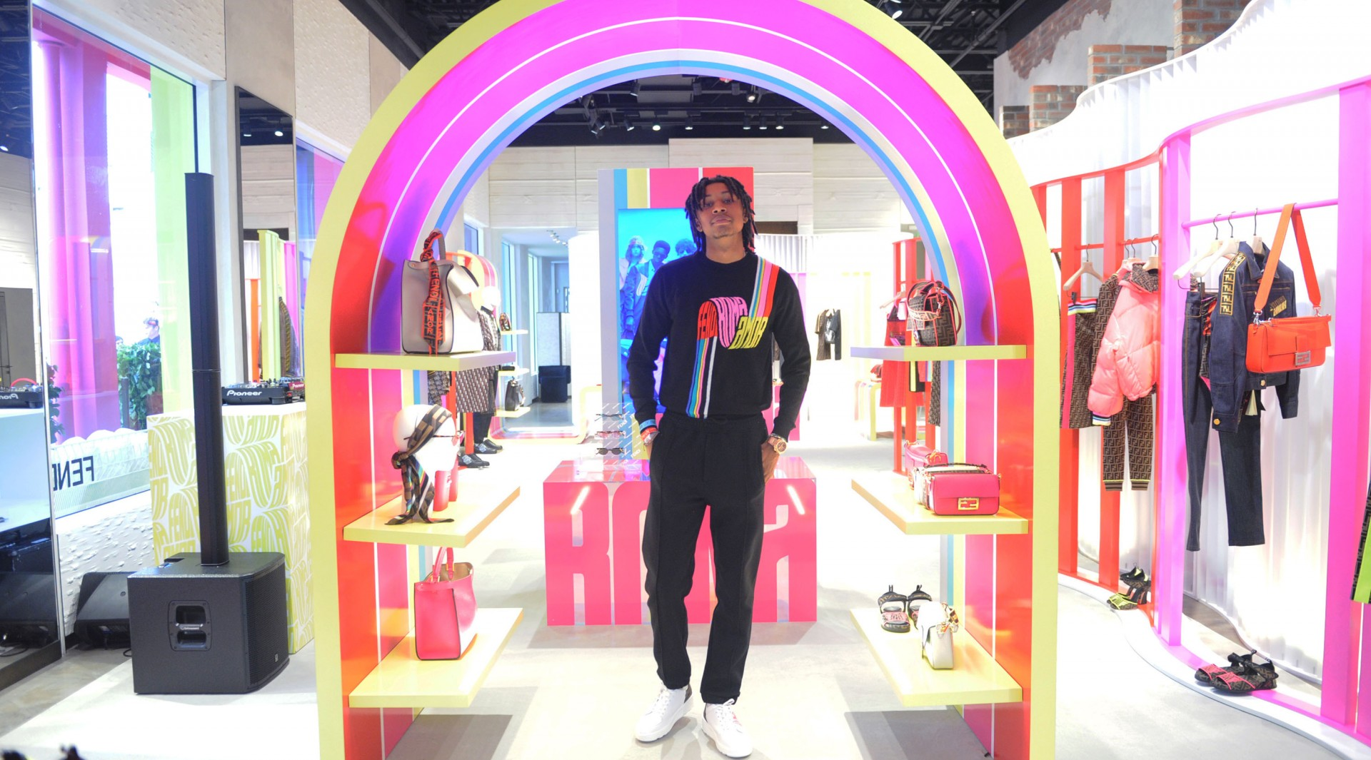 Fendi Roma Amor Collection Launch