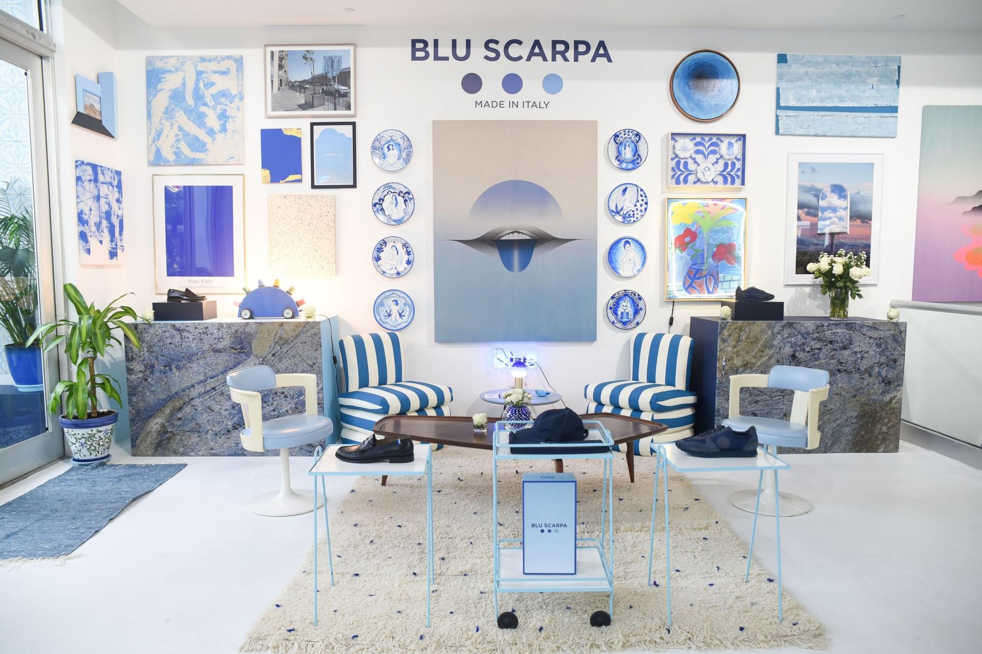 Blue Scarpa Cocktail Reception at the Office