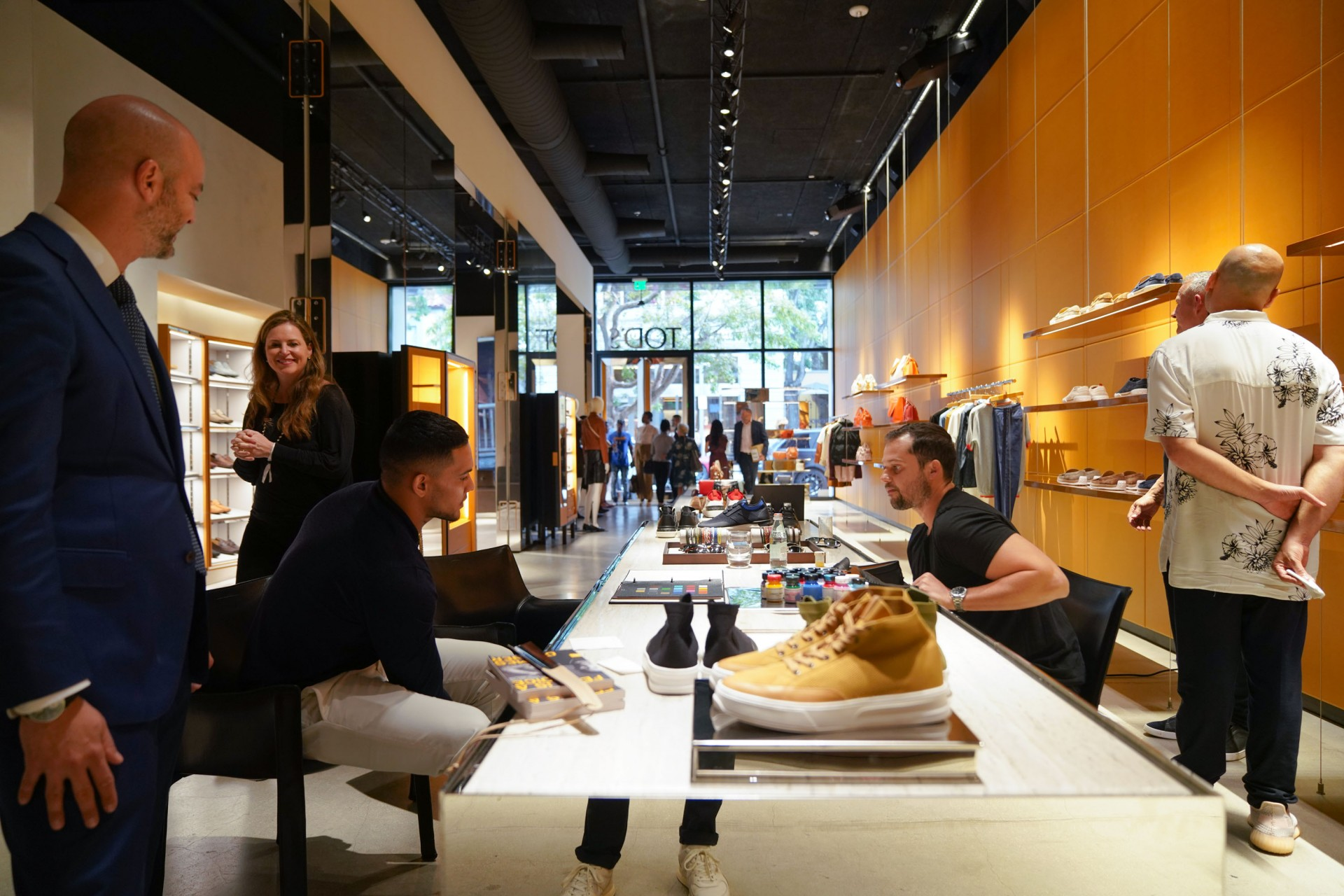 Tods Post-Fashion Show Reception Hosted by Pittsburgh Steeler James Connor