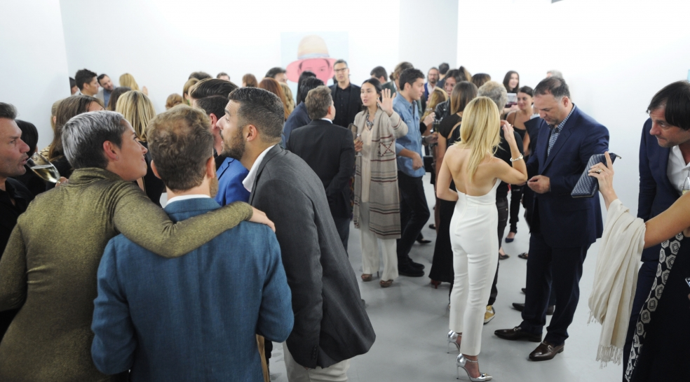 Spinello Projects Opening Event for Smell The Magic, A Solo Exhibition from Kris Knight