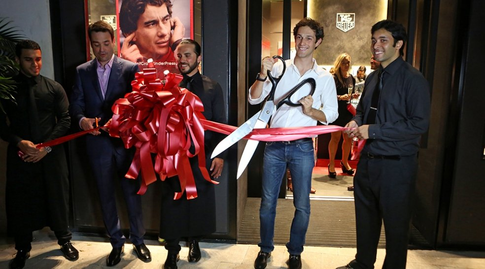 Miami Design District welcomes TAG Heuer to Palm Court
