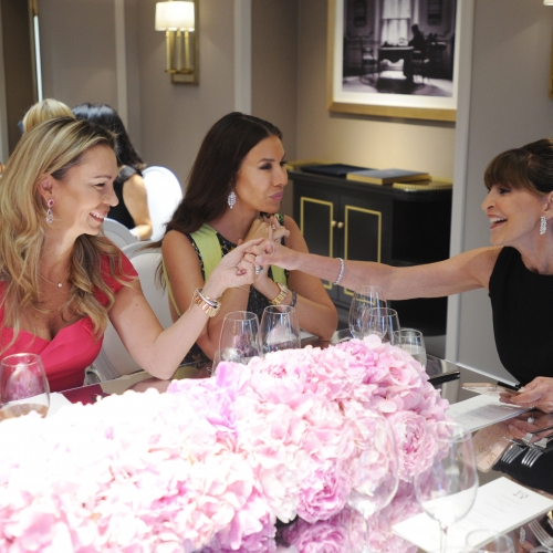 Harry Winston Celebrates the Launch of Sparkling Cluster Brunch