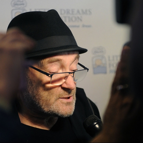 Phil Collins and Little Dreams Foundation at Estefan Kitchen