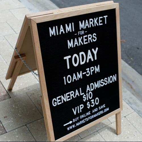 Markets for Makers Miami