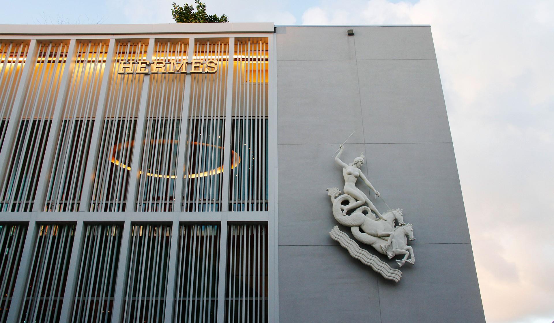 Hermes Store In Miami Florida Miami Design District