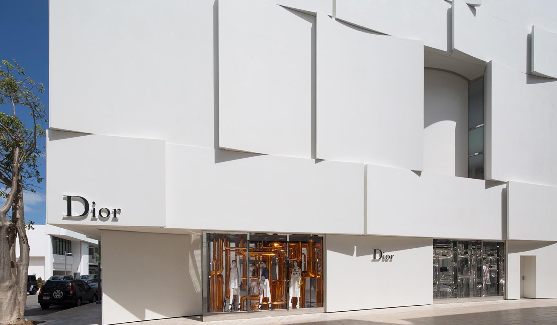 Dior Store In Miami Store In Miami Florida Miami Design District