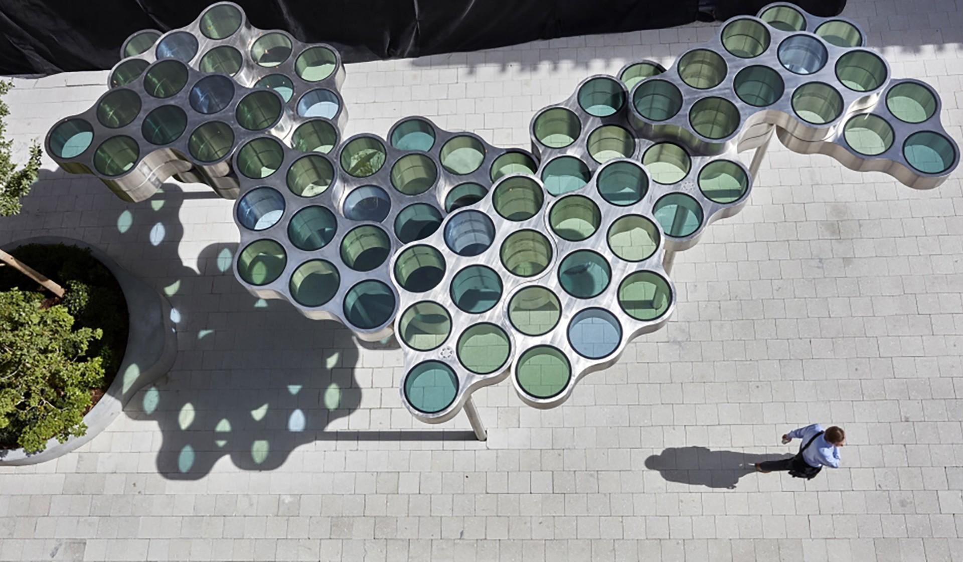 Ronan & Erwan Bouroullec ronan & erwan bouroullec: nuage, 2017 public art in miami