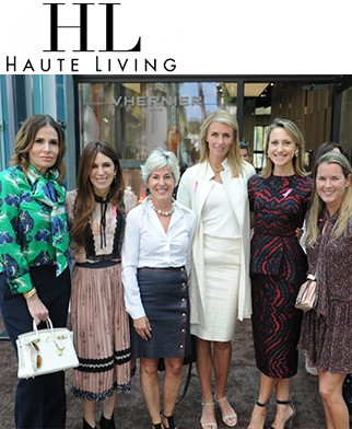 Vhernier Hosts BCRF Luncheon In The Miami Design District