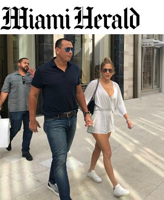 Were Jennifer Lopez & Alex Rodriguez ring shopping in Miami Friday? It looked like it